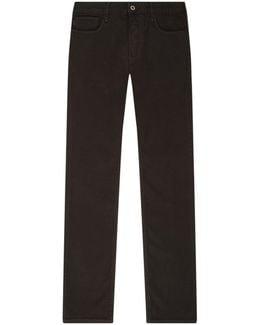 J06 Slim Straight Jeans