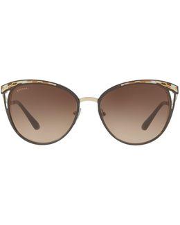 Serpenti Phantos Sunglasses