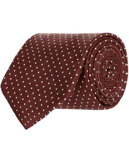 Micro Polka Dot Tie