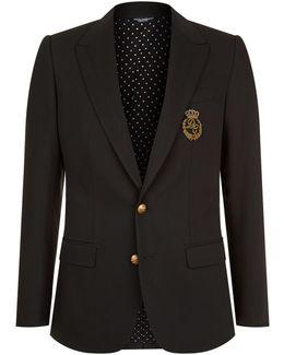 Crest Pocket Martini Jacket