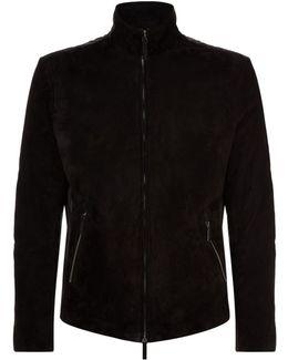 Contrast Short Jacket
