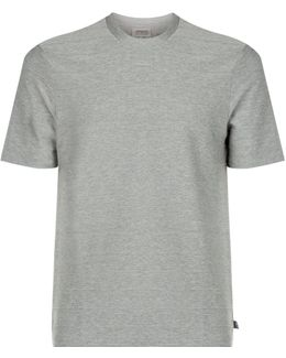 Horizontal Ribbed T-shirt