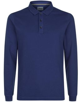 Long Sleeve Cotton Pique Shirt