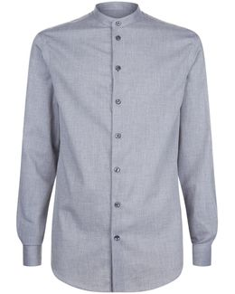 Mini Herringbone Casual Shirt