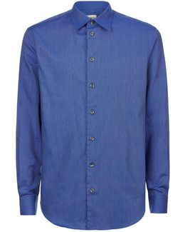 Open Weave Cotton Shirt