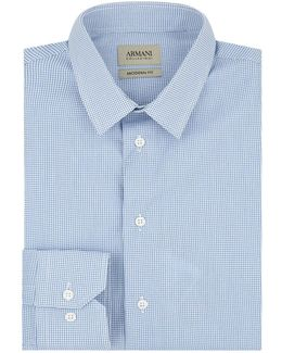 Grid Formal Shirt