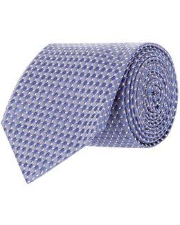 Jacquard Circles Tie