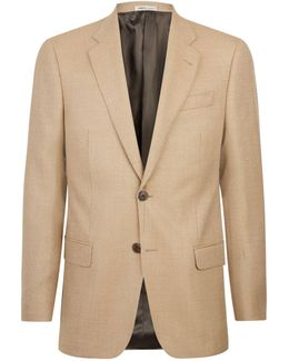 Woven Wool Two-button Jacket