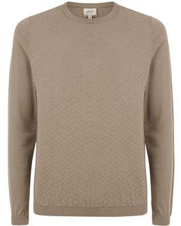 Diamond Tile Sweater