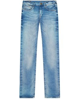 Geno Slim Fit Desert Well Light Wash Jeans
