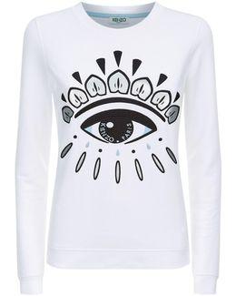 Eye Motif Sweatshirt