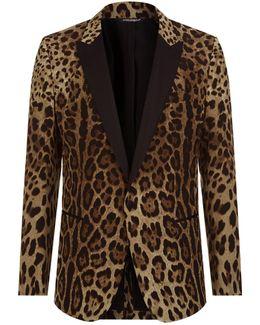 Leopard Print Martini Jacket