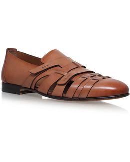 Carlos Cut-out Monk Shoes