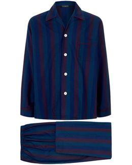 Coloured Stripe Pyjama Set