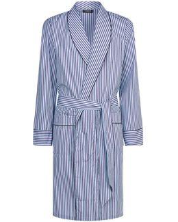 Classic Striped Robe
