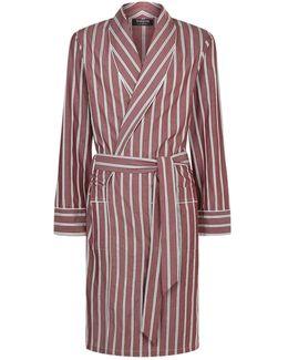 Pinstripe Robe