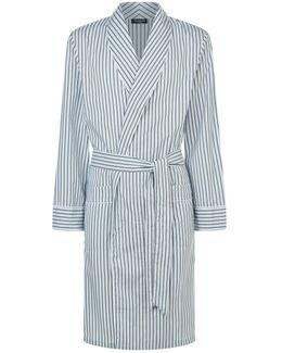 Multi-stripe Robe