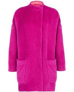 Oversized Alpaca Coat
