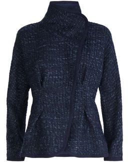 Open Front Tweed Jacket
