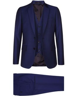 Wool-mohair Three Piece Suit