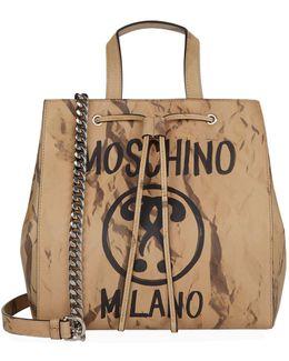 Recycle Logo Printed Tote Bag