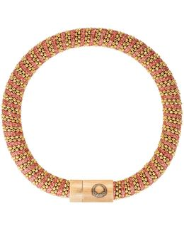 Gold-plated Woven Bracelet