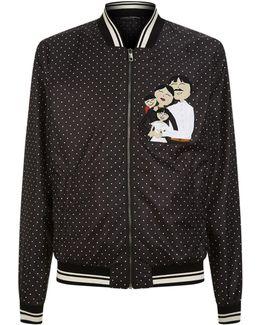 Polka Dot Lightweight Family Jacket