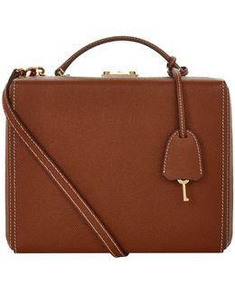 Large Saffiano Grace Box Bag