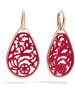 Victoria Rhodonite Earrings