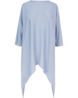 Embellished Sleeve Cashmere Sweater