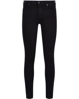 Slim Illusion Skinny Crop Jeans