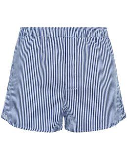 Cotton Stripe Boxer Shorts