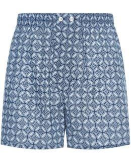 Mosaic Tile Boxer Shorts