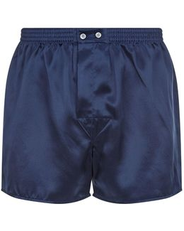 Classic Fit Silk Boxer Shorts