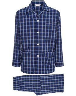 Barker Check Pyjama Set