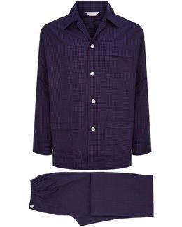 Brae Grid Check Pyjama Set