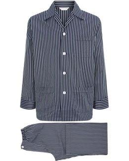 Royal Stripe Pyjama Set