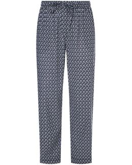 Hanging Monkeys Cotton Lounge Trousers
