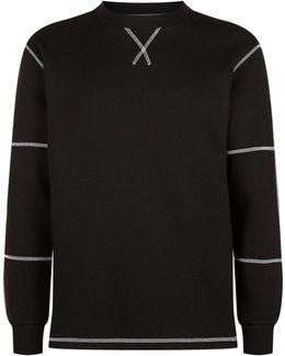 Monochrome Stitch Sweatshirt