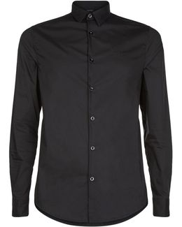 Cotton Collar Shirt