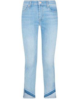 Roxanne Uneven Hem Skinny Jeans