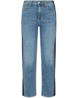 Kiki Cropped Wide Leg Jeans