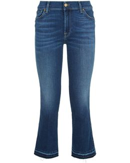 Cropped Boot Slim Illusion Jeans