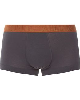 Logo Waistband Trunks