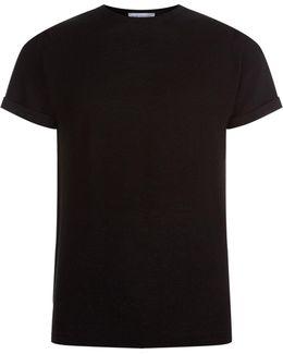 Textured Merino T-shirt