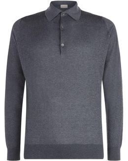 Lanlay Cashmere Blend Polo Shirt