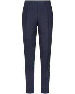 Woollen Tailored Trousers