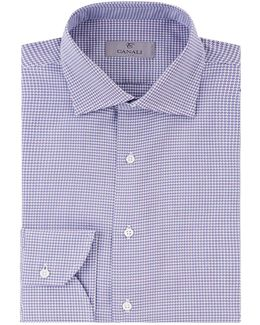 Houndstooth Formal Shirt