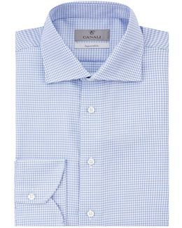 Mini Jacquard Formal Shirt