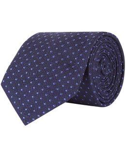 Tonal Polka Dot Tie